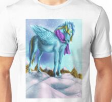 Alicorn queen of ice 1 Unisex T-Shirt