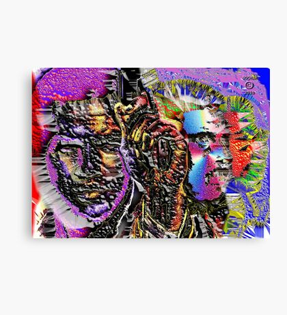 POST - TRAUMATIC SLAVE SYNDROME Canvas Print