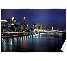 Brisbane Nights Poster