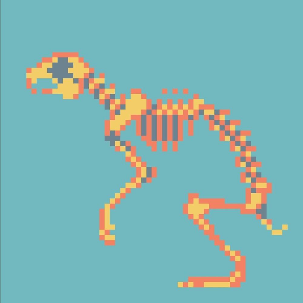 Pixel skeleton