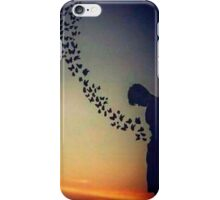 Butterflies in the stomach iPhone Case/Skin