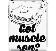 Got Muscle Son V8 Musle Car iPad Case/Skin
