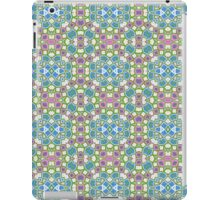 Green, Pink and Blue Abstract Design Pattern iPad Case/Skin
