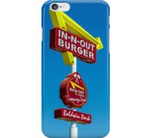 in-n-out iPhone Case/Skin