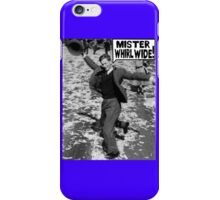 Mister Whirl Wide: Dancing in the Streets iPhone Case/Skin