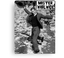 Mister Whirl Wide: Dancing in the Streets Canvas Print