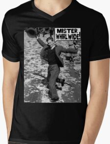 Mister Whirl Wide: Dancing in the Streets Mens V-Neck T-Shirt