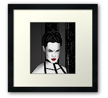 You've gone too far. Framed Print