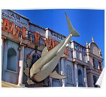 Shark Attack - Amity Hotel - Thorpe Park Poster