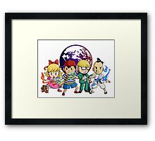 The Chosen Four Framed Print