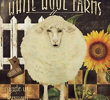 White Wool Vermont Farms by mindydidit