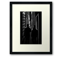 Midnight meeting. Framed Print