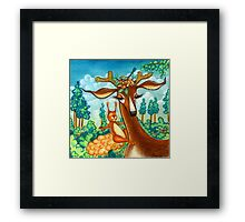 Bavarian Forest Framed Print