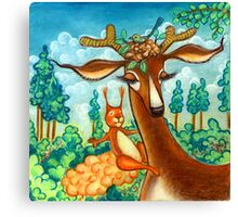 Bavarian Forest Canvas Print