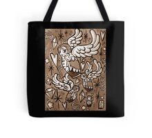 (Sepia) Wings of Desire Tote Bag