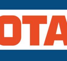 Vintage Total logo Sticker