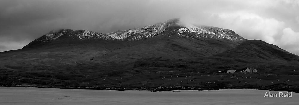 Snowy peaks by Alan Reid