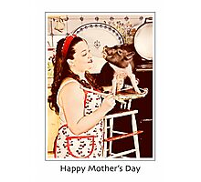 Wilber and Emily- Happy Mother's Day Photographic Print
