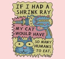 Shrink Ray Cat Kids Clothes