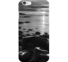 Maughold beach sunrise - photography iPhone Case/Skin
