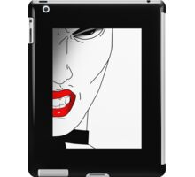 How dare you. iPad Case/Skin