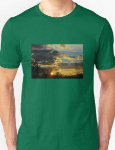 Dramatic Winter Sky Unisex T-Shirt