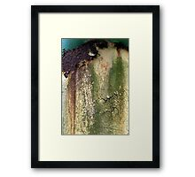 Urban abstract reality Framed Print