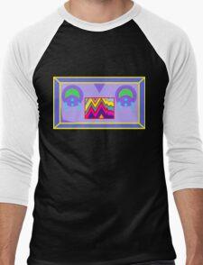 Robot Seplos head Men's Baseball ¾ T-Shirt