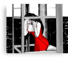 Help me, please! Canvas Print
