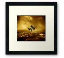 O', to live not just exist... Framed Print