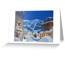 Whistler Greeting Card