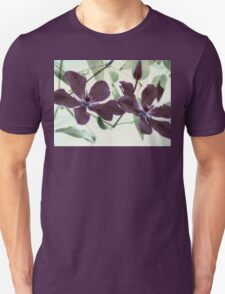 Christmas Clematis Unisex T-Shirt