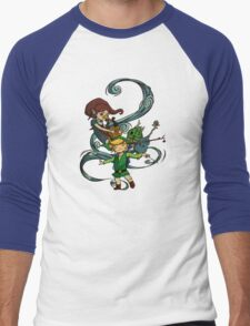 The Wind Waking Trio Men's Baseball ¾ T-Shirt
