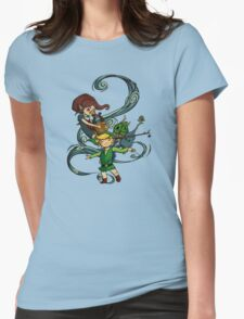 The Wind Waking Trio Womens Fitted T-Shirt