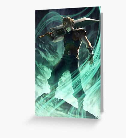 FFVII-Judgement Day Greeting Card