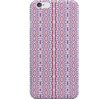 Pink, Blue and Green Abstract Design Pattern iPhone Case/Skin