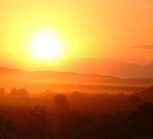 Sunset near Oudtshoorn by IngridSonja