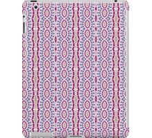 Pink, Blue and Green Abstract Design Pattern iPad Case/Skin