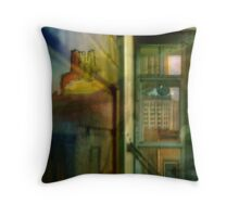 History Whispers Throw Pillow