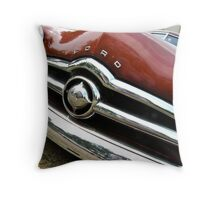 49 Shoebox Ford Grill Throw Pillow