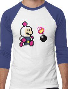 BomberMario Men's Baseball ¾ T-Shirt