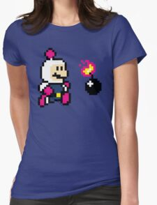 BomberMario Womens Fitted T-Shirt