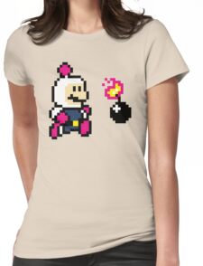BomberMario Womens Fitted T-Shirt