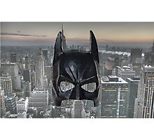 Batman Low Poly Photographic Print