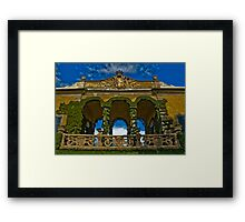 Italian Architecture Framed Print