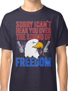 My Freedom America Guns Bald Eagles Fireworks Classic T-Shirt