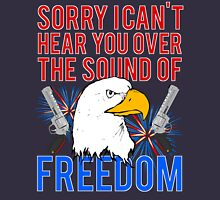 My Freedom America Guns Bald Eagles Fireworks Unisex T-Shirt