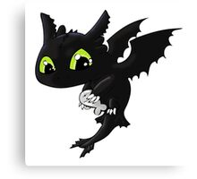 Toothless 1 Canvas Print
