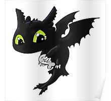 Toothless 1 Poster