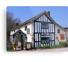 Rocke Cottage Tea Rooms Metal Print